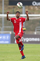 Shamit Shome of Canada U21's during Japan Under-21 vs Canada Under-21, Tournoi Maurice Revello Football at Stade Parsemain on 3rd June 2018