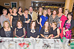 Staff of The Intensive Care Unit of The Bons Secours Hospital, Tralee pictured having a ball at their Christmas party held in The Ballyroe Heights Hotel on Friday night. Seated l/r Helen Russell, Deidre Ryall, Trish King, Joanne Malik and Marie Kennedy, standing l/r Delores Mannix, Julie Sommers, Enda Maguire, Sinead Connolly, Marian Carroll, John Mulhearn, Jacinta O'Sullivan, Sandra Young, Betty Ahern, Jackie Cheevers, Tina Bolger, Bri?d Brosnan and Mary Linehan...................................................................................................................................................................................................................................................................................... ............