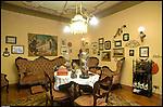 Il Salotto di Nonna Speranza nella villa del Meleto, residenza di Guido Gozzano ad Agliè