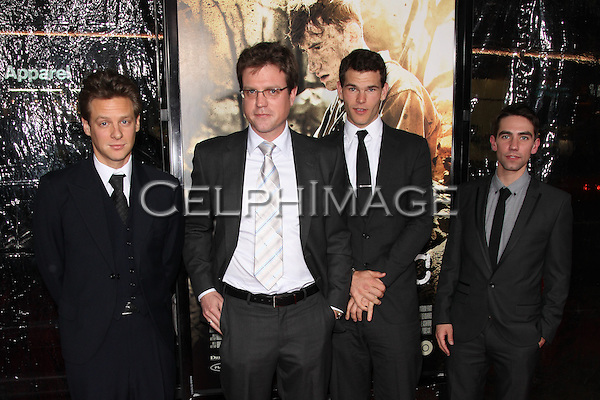 JACOB PITTS, SCOTT GIBSON, JOSH HELMAN, KEITH NOBBS. Arrivals to the Los Angeles Premiere of the HBO Miniseries The Pacific at Grauman's Chinese Theatre. Hollywood, CA, USA. .February 24, 2010.