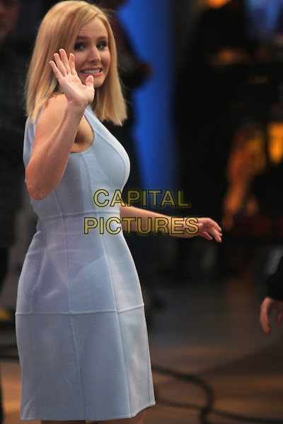 March 10, 2014: Kristen Bell at Good Morning America to talk about her new movie 'Veronica Mars' in New York, NY., USA.<br /> CAP/MPI/RW<br /> &copy;RW/ MediaPunch/Capital Pictures