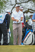 Billy Horschel (USA) looks over his tee shot on 2 during Round 3 of the Valero Texas Open, AT&amp;T Oaks Course, TPC San Antonio, San Antonio, Texas, USA. 4/21/2018.<br /> Picture: Golffile   Ken Murray<br /> <br /> <br /> All photo usage must carry mandatory copyright credit (&copy; Golffile   Ken Murray)