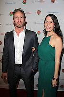 "Iam Ziering, Erin Ziering<br /> at the National Championship Party ""A Taste of LA,"" Pasadena Convention Center, Pasadena, CA 01-05-14<br /> David Edwards/DailyCeleb.Com 818-249-4998"