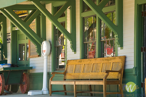 Boothbay Railway Village. Train Station