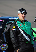 Nov. 13, 2009; Avondale, AZ, USA; NASCAR Camping World Truck Series driver Wheeler Boys during qualifying prior to the Lucas Oil 150 at Phoenix International Raceway. Mandatory Credit: Mark J. Rebilas-