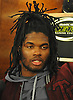 Lorenzo Mauldin #55, New York Jets linebacker, speaks to the media at Atlantic Health Jets Training Center in Florham Park, NJ on Monday, Jan. 2, 2017. Players cleaned out their lockers one day after their 5-11 season concluded.
