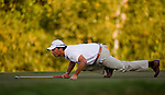 Pablo Larrazabal of Spain in action during the 54th Omega Mission Hills World Cup of Golf on November 29, 2008 in Shenzhen, China. Photo by Victor Fraile