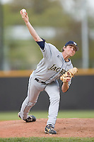 Starting pitcher Zach Von Tersch #30 of the Georgia Tech Yellow Jackets in action versus the Wake Forest Demon Deacons at Wake Forest Baseball Park April 18, 2009 in Winston-Salem, NC. (Photo by Brian Westerholt / Four Seam Images)