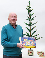 2018 12 04 Woolworths Christmas tree from the 1930s to be sold at auction, Wales, UK