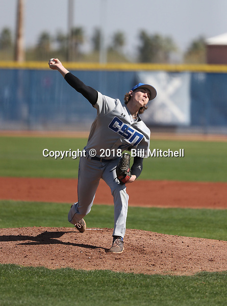 Isaiah Blaylock - 2018 College of Southern Nevada Coyotes (Bill Mitchell)