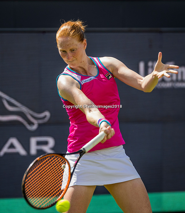 Den Bosch, Netherlands, 11 June, 2018, Tennis, Libema Open, Alison Van Uytvanck (BEL)<br /> Photo: Henk Koster/tennisimages.com
