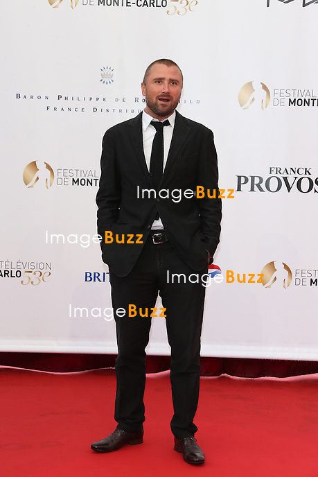 CPE/Actor Alexandre Brasseur attends the opening ceremony of the 53rd Monte Carlo TV Festival on June 9, 2013 in Monte-Carlo, Monaco.
