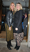 Tamzin Outhwaite and Kate Thornton at the George Michael Collection VIP private view &amp; reception, Christie's London, King Street Saleroom, King Street, London, England, UK, on Tuesday 12th March 2019.<br /> CAP/CAN<br /> &copy;CAN/Capital Pictures