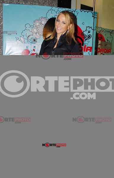 Mexico D.F., 05/12/2013, Ines Sainz en su llegada al concierto de Danna Paola en el Lunario del Auditorio.