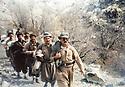 Iran 1983 <br /> In  front, Chowkat Haji Moushir, 2nd , Mullazem Omar Abdallah in al Watan on their way to welcome the KDPI  <br /> Iran 1983 <br /> En avant Chowkat Haji Moushir, 2eme , Mullazem Omar Abdallah a Al Watan partant a la rencontre du PDKI