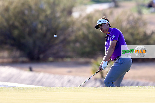 Beau Hossler (USA) during the 2nd round of the Waste Management Phoenix Open, TPC Scottsdale, Scottsdale, Arisona, USA. 01/02/2019.<br /> Picture Fran Caffrey / Golffile.ie<br /> <br /> All photo usage must carry mandatory copyright credit (&copy; Golffile | Fran Caffrey)