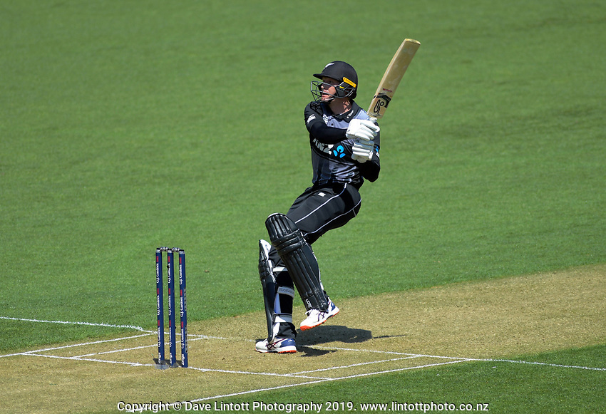 Martin Guptill. Twenty20 International cricket match between NZ Black Caps and England at Westpac Stadium in Wellington, New Zealand on Sunday, 3 November 2019. Photo: Dave Lintott / lintottphoto.co.nz