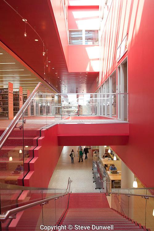 Cambridge Public Library, Cambridge, MA (Rawn; )