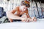 Rio de Janeiro Olympic Test Event - Fédération Française de Voile. RSX M LeCoq.