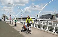 Nederland, Zaandijk 2015 06 03. De Julianabrug over rivier de zaan