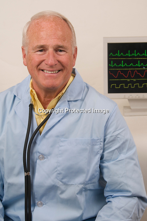 Stock photo of Senior medical Doctor