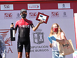Ivan Ramiro Sosa Cuervo (COL) Team Ineos wins Stage 5 of the Vuelta a Burgos 2020, running 158km from the Covarrubias to Lagunas de Neila, Spain. 1st August 2020. <br /> Picture: Colin Flockton | Cyclefile<br /> <br /> All photos usage must carry mandatory copyright credit (© Cyclefile | Colin Flockton)