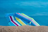 Beach Umbrella. Kauai, Hawaii