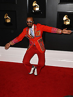 LOS ANGELES, CA - FEBRUARY 10: Fantastic Negrito at the 61st Annual Grammy Awards at the Staples Center in Los Angeles, California on February 10, 2019. Credit: Faye Sadou/MediaPunch