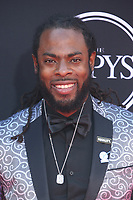 LOS ANGELES, CA - JULY 12: Richard Sherman at The 25th ESPYS at the Microsoft Theatre in Los Angeles, California on July 12, 2017. Credit: Faye Sadou/MediaPunch