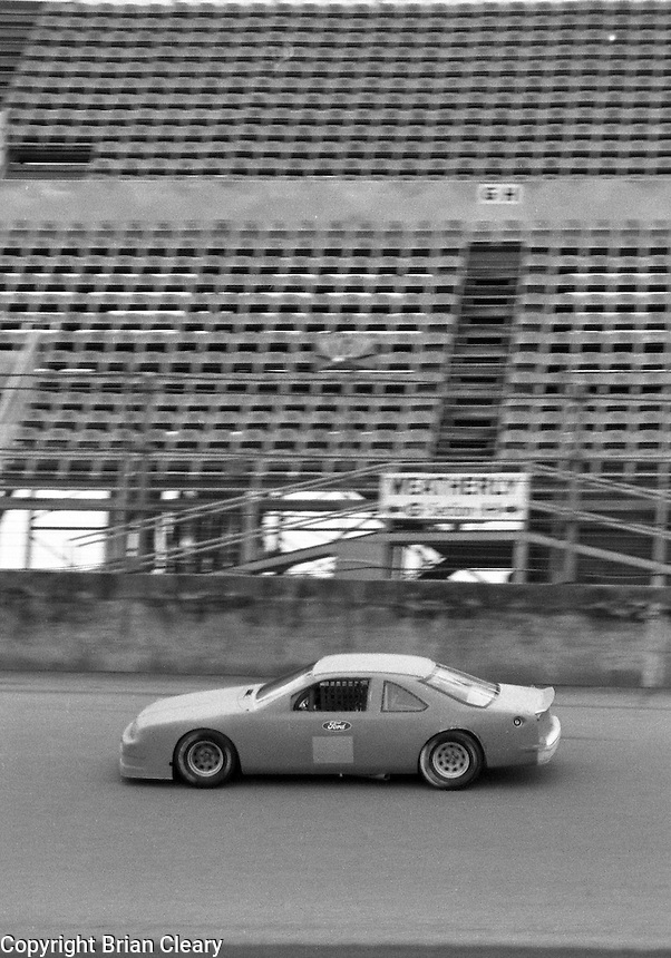 pre season testing for Daytona 500 at Daytona International Speedway in January  1989.  (Photo by Brian Cleary/www.bcpix.xom)