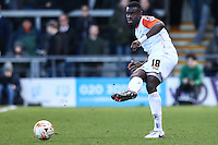 Magnus Okuonghae of Luton Town during the Sky Bet League 2 match between Barnet and Luton Town at The Hive, London, England on 28 March 2016. Photo by David Horn.