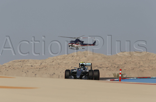 02.04.2016. Sakhir, Bahrain. F1 Grand Prix of Bahrain, qualification Saturday.   6 Nico Rosberg (GER, Mercedes AMG Petronas Formula One Team) on his way to 2nd on pole