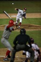 PALO ALTO - MARCH 8:  Mark Appel of Stanford University pitches during the game against UNLV at Sunken Diamond on March 8, 2013 in Palo Alto, California. (Photo by Brad Mangin)