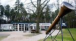 SOESTDUINEN - Een reuze tee op de baan bij Golfclub Soestduinen naar het Hilton Hotel. Op de achtergrond het Clubhuis.COPYRIGHT KOEN SUYK