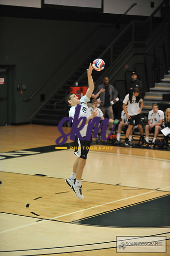 Mustang Men's volleyball team advanced to the ECAC South Championship round as they defeated New Jersey City University in straight sets (25-22), (25-16) and (25-20) in the semi-finals Saturday morning at the Owings Mills gymnasium.
