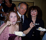 Katherine Helmond, Robert Mandan, and Cathryn Damon photographed on June 1, 1982 in New York City.