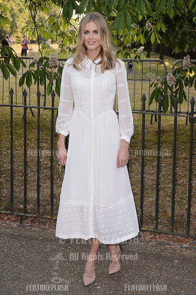 Donna Air at The Serpentine Gallery Summer Party 2015 at The Serpentine Gallery, London.<br /> July 2, 2015  London, UK<br /> Picture: Dave Norton / Featureflash