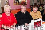 Three of the organisers of the Thrashing Cancer Bingo in The Manor Inn, Killorglin on Friday.<br /> L-R Helen O'Shea, Gary O'Shea &amp; Helen Horgan from Killorglin.