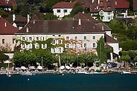 Europe/France/Rhône-Alpes/74/Haute-Savoie/Talloires: l'Abbaye - Hôtel Restaurant