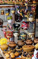 Craft Shops near Besakih Temple, Bali, Indonesia