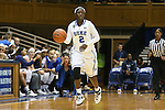 14 November 2013: Duke's Alexis Jones. The Duke University Blue Devils played the University of South Carolina Upstate Spartans at Cameron Indoor Stadium in Durham, North Carolina in a 2013-14 NCAA Division I Women's Basketball game. Duke won the game 123-40.