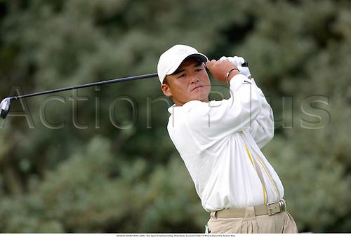 SHIGEKI MARUYAMA (JPN). The Open Championship, Muirfield, Scotland 020718 Photo:Glyn Kirk/Action Plus...Golf.2002