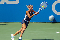 Washington, DC - August 4, 2019: Camila Giorgi (ITA) gets to the ball during the Citi Open WTA Singles final at William H.G. FitzGerald Tennis Center in Washington, DC  August 4, 2019.  (Photo by Elliott Brown/Media Images International)