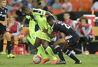 Washington, DC - Tuesday, September 15 2015: DC United defeated Arabe Unido (PAN) 2-0 in a CONCACAF Champions League match at RFK Stadium.