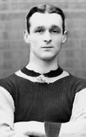 BNPS.co.uk (01202 558833)Pic: Wikipedia/BNPS<br /> <br /> PICTURED: Harry Hampton Aston Villa's Harry Hampton fought at the Somme where he suffered the effects of mustard gas poisoning and struggled to resume his career.David Beckham was once famously lampooned for wearing his wife's underwear.But had he plied his trade 100 years before he wouldn't have been alone on the football pitch in wearing knickers, according to a fascinating document that has come to light.The four page itinerary was given to England footballers ahead of a match in 1912.In it was the instruction for all players to bring 'dark knickers' to wear during the game.