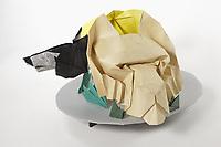 OrigamiUSA 2017 Holiday Tree at the American Museum of Natural History. Base 5 models:<br /> Wolf Head: Designer &ndash; Eduardo Santos, Folder &ndash; Alfred Kwan<br /> Elephant Head: Designer &ndash; Roman Diaz, Folder &ndash; Alfred Kwan<br /> Tiger Head: Designer &ndash; Roman Diaz, Folder &ndash; Alfred Kwan