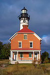 Au Sable Point Lighthouse, Pictured Rocks National Lakeshore, Michigan