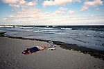 Sleeping, Narragansett Beach. Narragansett, RI