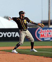 Gabriel Arias - San Diego Padres 2020 spring training (Bill Mitchell)