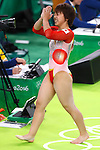 Mai Murakami (JPN), <br /> AUGUST 7, 2016 - Artistic Gymnastics : <br /> Women's Qualification <br /> Floor Exercise <br /> at Rio Olympic Arena <br /> during the Rio 2016 Olympic Games in Rio de Janeiro, Brazil. <br /> (Photo by Sho Tamura/AFLO SPORT)